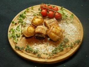 Картошка в беконе