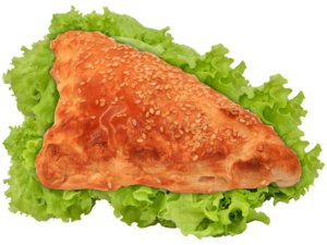 Хачапурі з листкового тіста