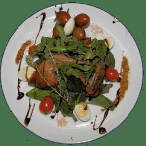салат перепелочка