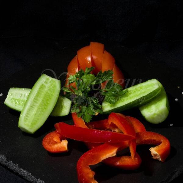 Асорті зі свіжих овочів