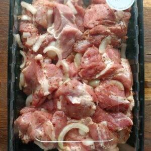 Маринованная свиная вырезка